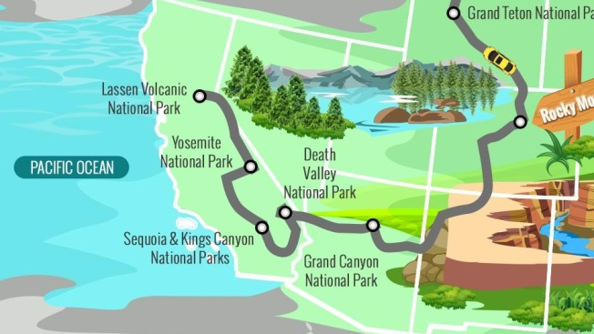 National Park Road Trips: Your Handy Maps