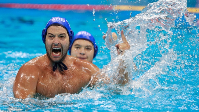 'I Feel Like I'm Flying': Serbia Wins 1st Men's Water Polo Gold