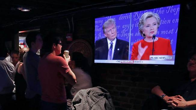 The Biggest Tweet of the 1st Trump-Clinton Debate Was Published 4 Years Ago