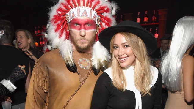 Hilary Duff 'So Sorry' for Pilgrim, Native American Halloween Costumes