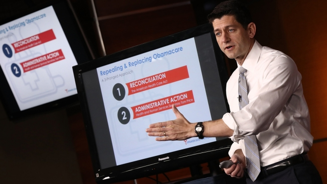 Ryan's Legacy as Speaker on the Line With Health Care Vote
