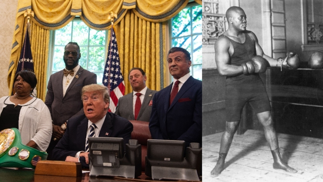 Trump Pardons Late, Great Boxer Jack Johnson