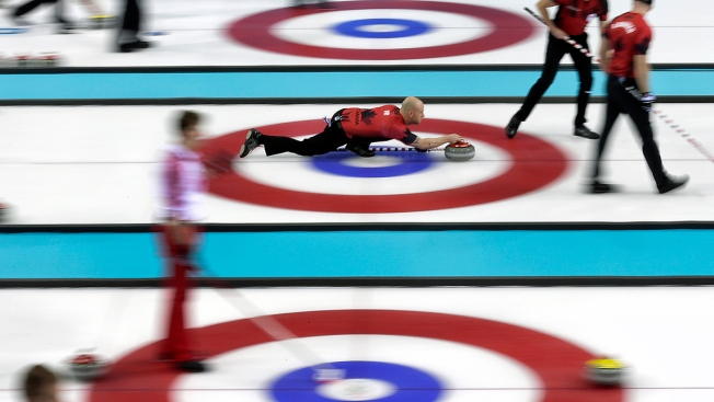 Gold-Medal Favorite Canada Suffers Shaky Start in Men's Curling