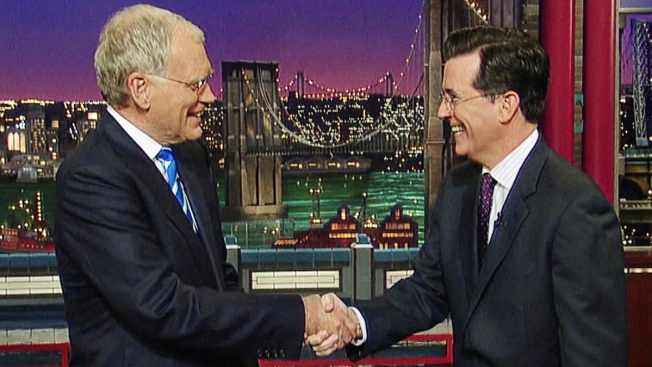 """Stars, Fans React to Stephen Colbert Taking Over """"Late Show"""""""