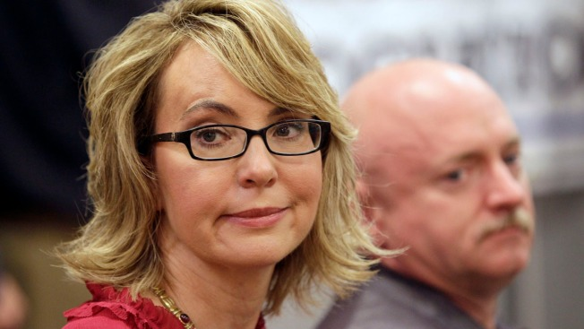Gabby Giffords Attends NY Gun Show