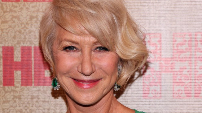 Helen Mirren Earns Harvard's Hasty Pudding Award
