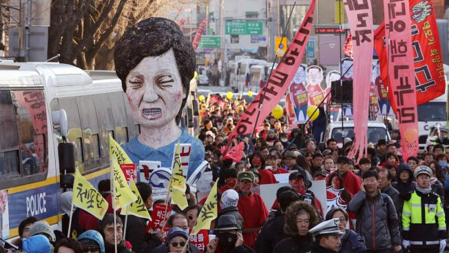 After Weeks of Protest, Crowds in South Korea Celebrate Park's Impeachment
