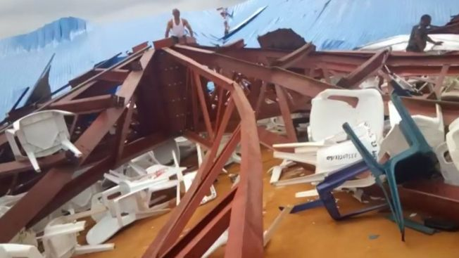 Hospital Director: 160 Dead in Collapsed Nigerian Church