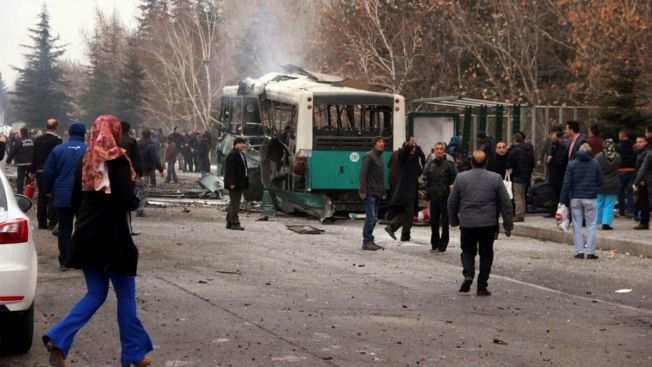 Car Bomb Kills 13 Turkish Commandos, Army Says