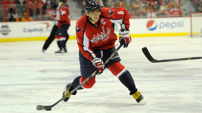 Ovechkin to Lead Russia at Sochi Olympics