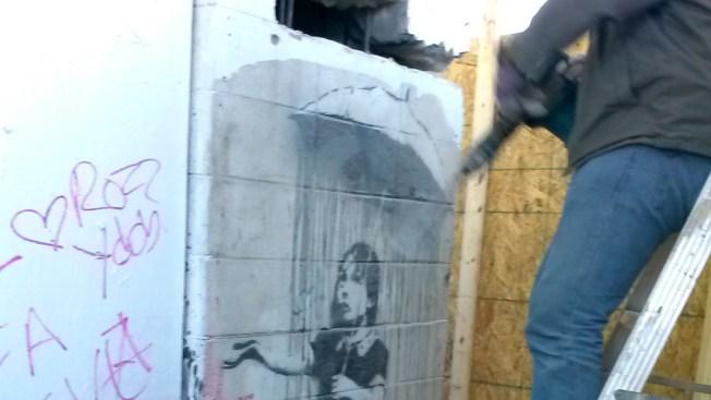 LA Man Suspected of Attempted Banksy Art Theft