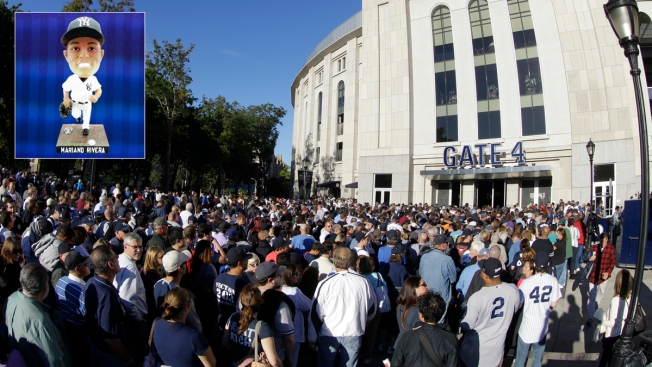 Mariano Rivera's Bobbleheads Arrive Late to Yankee Stadium, Upsetting Fans
