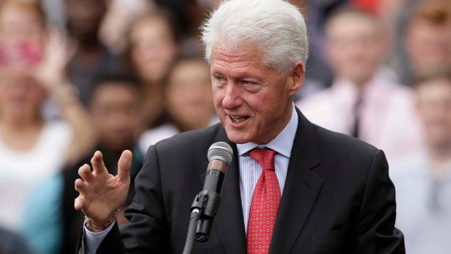 "Former President Clinton Visits Southern CA for ""Get Out the Vote"" Rally"