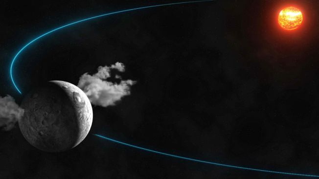 Life on Ceres? Telescope Spots Water Plumes on Dwarf Planet
