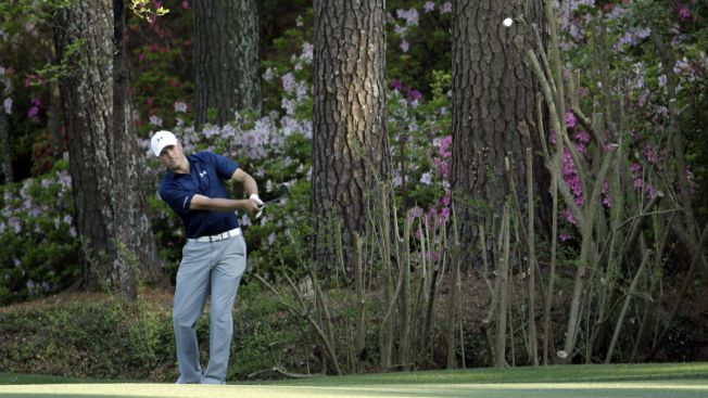 Jordan Spieth, Bubba Watson Tied for Lead at Masters