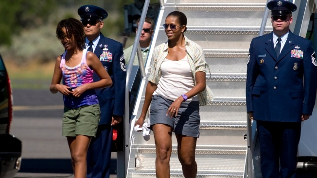 "Michelle Obama Regrets Air Force One ""Shorts"""