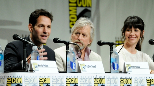 """Ant-Man"" Cast Revealed at Comic-Con: Lilly, Douglas, Rudd"