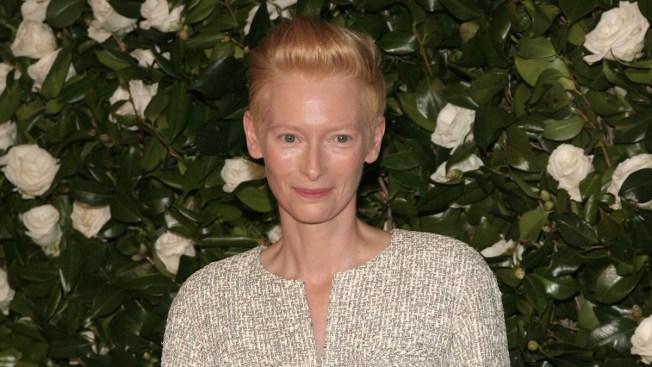 Tilda Swinton Honored at MoMA on 53rd Birthday