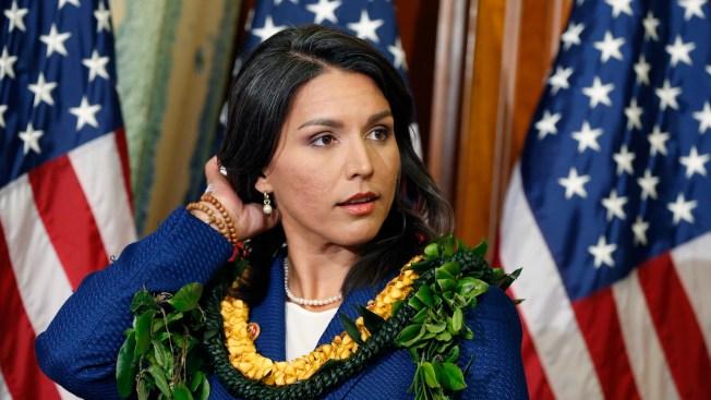 Hawaii Rep. Gabbard Lashes Out at Trump