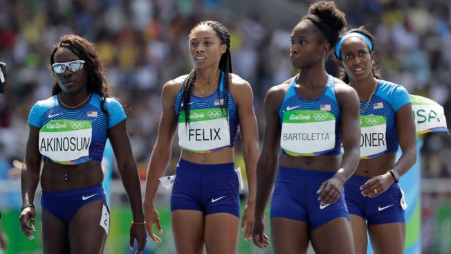 USA Qualifies for 4x100 Relay After Baton Bobble Leads to Rerun