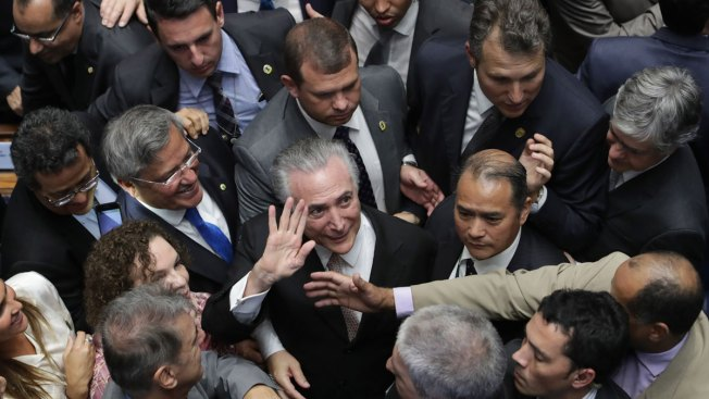 Brazil's Michel Temer Inherits Presidency on Shaky Ground