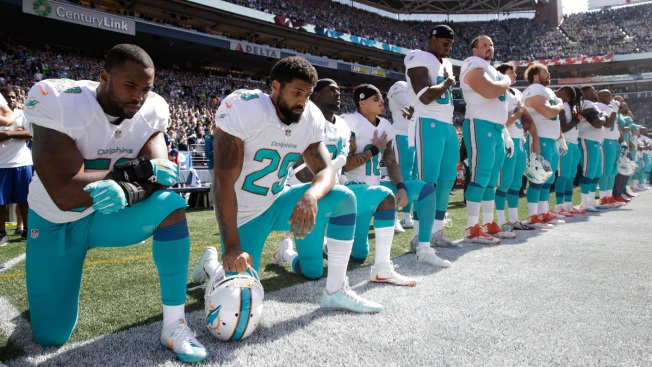 More National Anthem Protests During Sunday's NFL Games