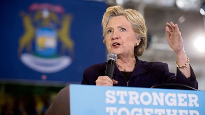 Looking Past Trump, Clinton Aims To Help Other Democrats