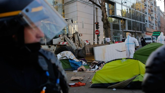 Police Operation Creates Tension in Paris Migrant Camp