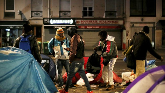 After Calais, French Authorities Clear Migrant Camps in Paris