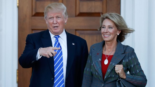 Defections Put DeVos Nomination in Peril