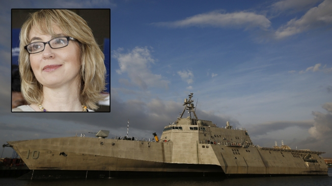 Navy to Commission USS Gabrielle Giffords