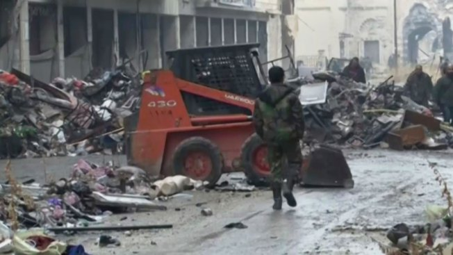 Cease-Fire Takes Effect in War-Ravaged Syria