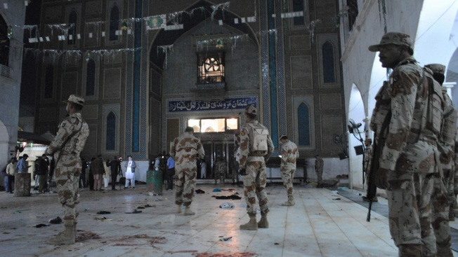 Islamic State Attack on Pakistan Shrine Kills 75