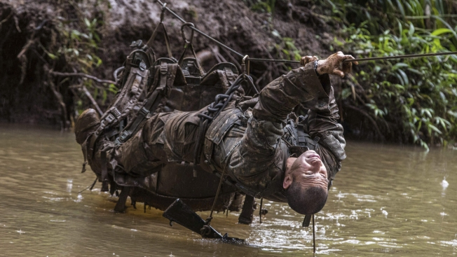 US Soldiers Train for Jungle Warfare at Hawaii Rainforest