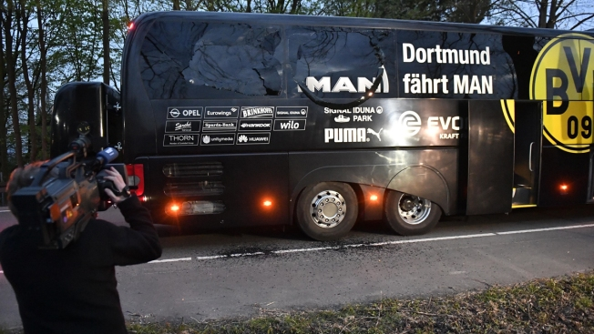 Germany: Player Hurt in Blasts Near Borussia Dortmund Bus