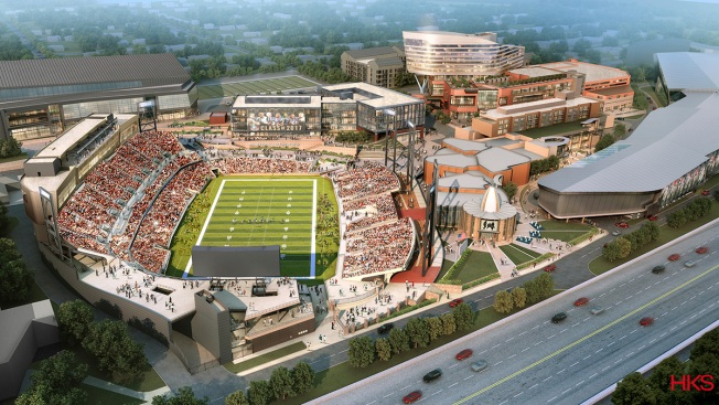 Hall of Fame President Envisions Football 'Disney World'