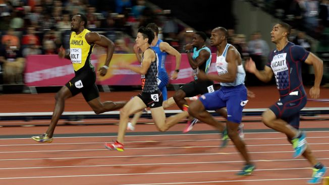 Slow Start Can't Stop Bolt in Debut at Last Worlds