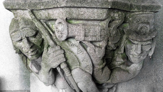 Yale to Remove Carving With Gun Pointed at Native American