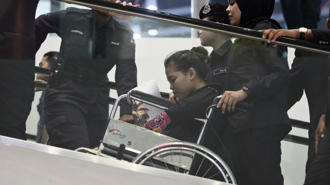 Women on Trial, Judge, Lawyers Tour Airport Where North Korean Scion Was Killed