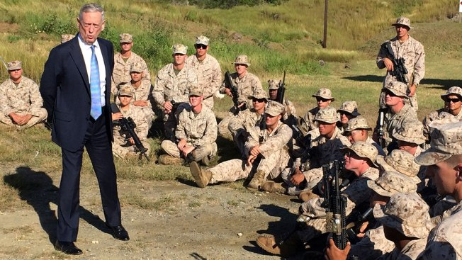 Defense Secretary Mattis Gives US Troops a Pep Talk at Guantanamo