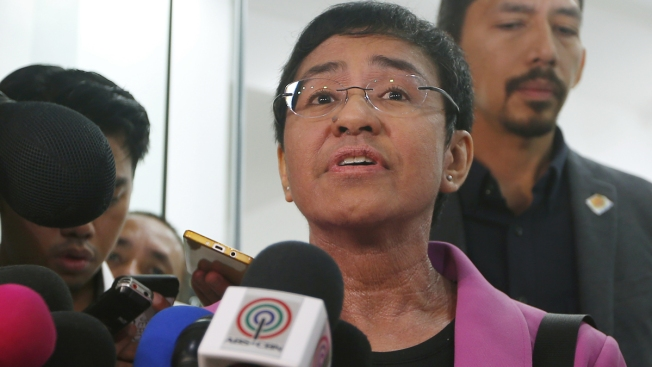 Noted Philippine Journalist Critical of President Is Arrested