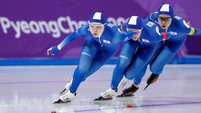 Afbeeldingsresultaat voor speedskating team south korea