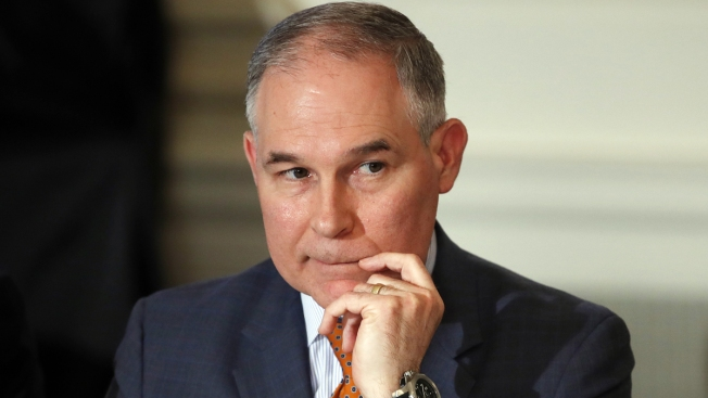 Trump: EPA Chief Pruitt 'Doing Great Job But Is Totally Under Siege'