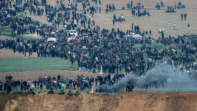 Deadly Clashes in Gaza Mark Start of Palestinian Campaign