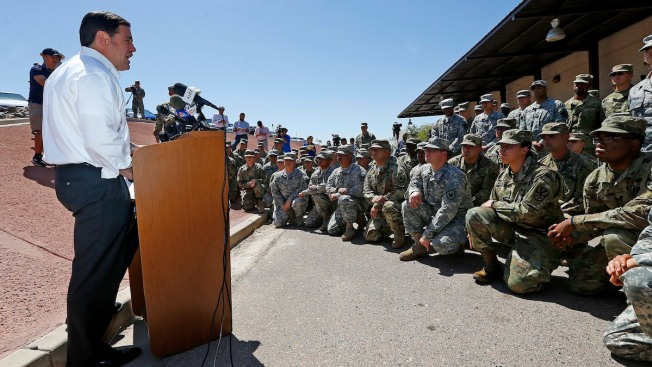 3 States Pledge 1,600 Troops for Trump's Border Fight