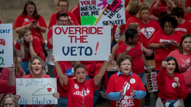 Teacher Victory: Kentucky Lawmakers Override Budget Veto