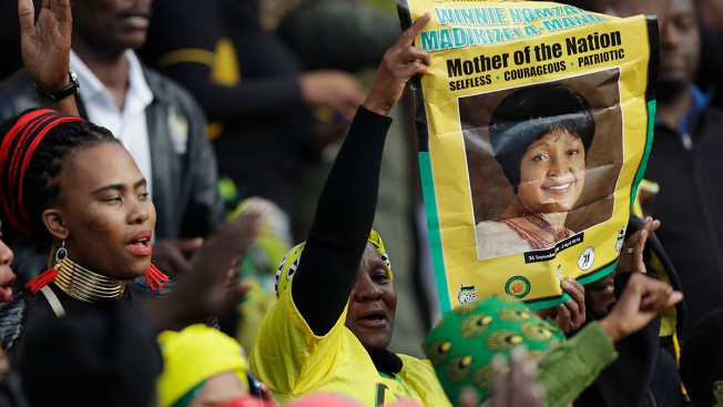 'Winnie!': South Africa Bids Farewell to Madikizela-Mandela