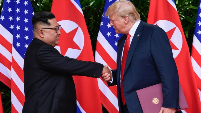 Trump Says Korea Military Drills Could Be Restarted
