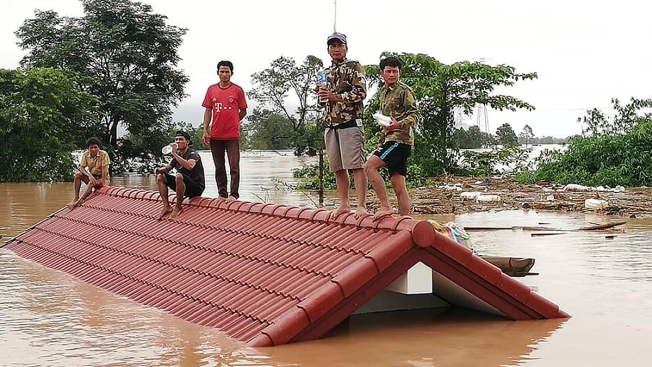 Hundreds Missing in Laos Amid Flooding From Hydroelectric Dam