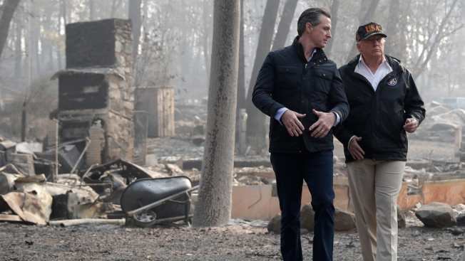 President Again Threatens to Withhold Calif. FEMA Funding Over Forest Management